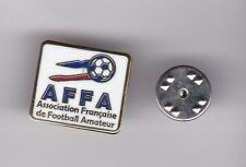 """French Amateur Football Federaton """"AFFA""""  - lapel badge butterfly fitting"""