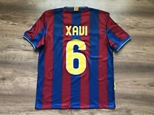 1763f49138f BARCELONA SPAIN 2009/2010 HOME FOOTBALL SHIRT JERSEY CAMISETA NIKE #6 XAVI