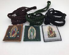 virgen De Guadalupe Escapularios  12 Piezas Trenzados Tres Estilos Muy Bonitos