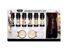 Diffuseur huile essentielle parfum 6 flacons dont odeur sapin noel décoration