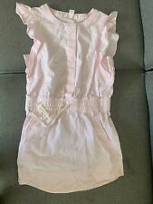 COUNTRY ROAD Girls Light Pink Cotton Dress Size 4