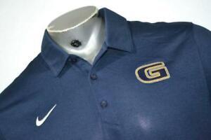 21373-a Mens Nike Golf Polo Shirt Size Large Grambling State University NEW