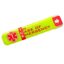 Helmet Safety ID Tag for Sports and the Work Place