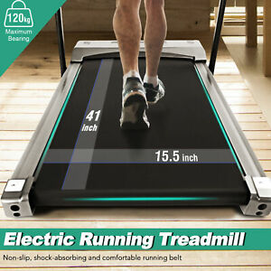 Pro Electric Treadmill Running Jogging Machine Heavy Duty Workout Exercise Home