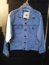 Hard Rock Cafe London Vintage UNISEX Medium Denim Jean Jacket Save the Planet SM