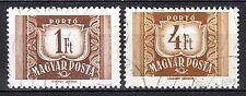 Hungary - 1969 Postage Due - Mi. 240-41 VFU
