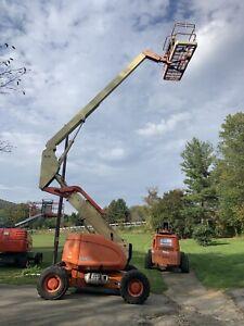 JLG 600A Boom Lift Aerial Manlift 4X4 Articulating