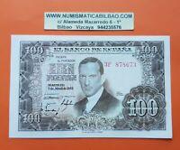 ESPAÑA 100 PESETAS 1953 SC JULIO ROMERO DE TORRES NUEVO SERIE 3F PICK 145 SPAIN