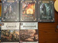 Dungeons & Dragons (2e,3e): Dark Sun, Dragonlance, Greyhawk, Planescape  (D&D)