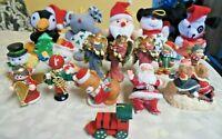 18 Vintage Christmas Ornaments & Figurines