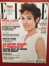 ELLE 25 Avril 2009 - Cecile de France Special Cuisine Mode sur Internet Bijoux