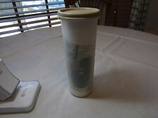 Tupperware Home Cafe Coffee pod container round 1643-12 rice cylinder NOS label