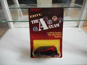 ERTL The A-Team GMC Van in Black on 1:64 on Blister