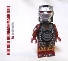 LEGO Custom - Hotrod Ironman - Marvel Super heroes minifigures iron man hot rod
