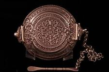 Antique Silver Snuff Box,Ear 19th c.