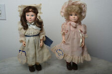 Jan Hagara Collectable Dolls by Effanbee Cristina and Laurel 15 inch