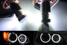2x Canbus LED H8 for 07-11 BMW Angel Eye Halo Light 328i 335i M3 528i 550i X5 X6