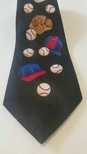 A Rogers Baseball W/Caps Coach Designer Suit Neck Tie