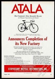 1973 Atala bike 10-speed photo vintage print ad