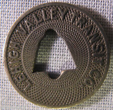 Lehigh Valley PA-15G Transit Token **SCARCE BELL HOLE VERSION** whotoldya Lot28