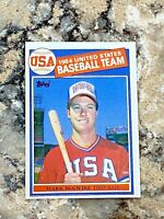 1985 Topps Team USA Mark McGwire RC #401 Oakland A's Rookie MLB Baseball Card