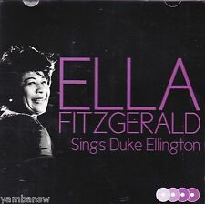 ELLA FITZGERALD - SINGS DUKE ELLINGTON * NEW & SEALED CD