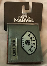 Bioworld Captain Marvel Agents Of Shield Nick Fury Bi Fold Wallet New