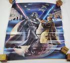 Rare 1978 Star Wars Obi Wan Darth Vader Ken Goldammer Lightsabre poster