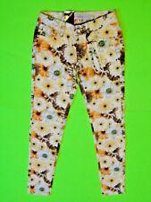 CHARMING GIRL {Size 1} Junior's GEM Floral Print Super Skinny Jeans NWT!