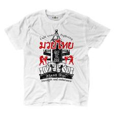 T-Shirt Maglietta Muay Thai Clinch Guerriero Boxing Ring Fighting Mma KiarenzaFD