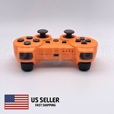 Wireless Controller Compatible With PS3 PlayStation 3 PC MAC Orange