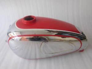Neuer Horex Regina Chrom und lackierter Benzintank (Reproduktion)