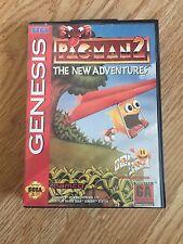 Pacman 2 The New Adventures Sega Genesis Cib Works SG2