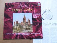 Coro E SOFFIATORE musica dal elevato Dom a Magonza, Cantate Domino LP M (-)/M (-)