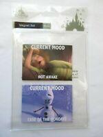 Disney Parks Current Mood Frozen Magnet Set Olaf Anna - NEW