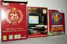SUPER MARIO ALL STARS 25TH USATO OTTIMO NINTENDO Wii ED ITALIANA PAL GQ1 42131