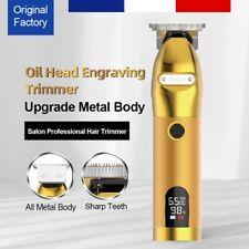 Tondeuse De Précison Professionnelle Sans-Fil LCD (Barbe, Corps, Cheveux) Gold