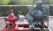 Worthington Centrifugal Fire Pump 5LRG 16A, Detroit Diesel 3-71, 3A77367
