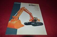 Hitachi Super EX550-V Excavator Dealer's Brochure DCPA6