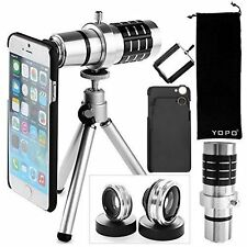 iPhone 6s/6s+ /6+/6 Camera Lens Kit - High Performance Telescope Lens hd360 zoom