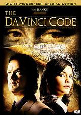 The Da Vinci Code (Dvd, 2006, 2-Disc Set, Widescreen Special Edition)