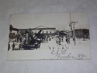 VINTAGE 1908 FOWLER VT  POSTCARD