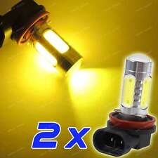 2-pc LED Fog Light Bulbs H11 H8 H9 3000K Golden Yellow Color DRL Driving Lamp