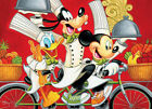 FRAMED CANVAS ART PRINT PAINTING DISNEY CHEFS MICKEY MOUSE DONALD DUCK GOOFY