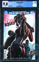 SUICIDE SQUAD #1 VARIANT EDITION - FIRST PRINT - CGC 9.8 - SOLD OUT - DC COMICS
