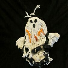 Handcrafted Small Girl Ghost Halloween Decor