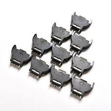 10PCS CR2032 2032 3V Cell Coin Battery Socket Holder Case CE6 RCA
