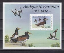 TIMBRE STAMP BLOC ILE ANTIGUA Y&T#126 OISEAU BIRD NEUF**/MNH-MINT 1987~B82