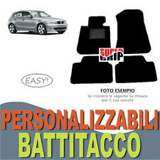 PER BMW SERIE 1 E81 TAPPETINI AUTO SU MISURA IN MOQUETTE CON BATTITACCO | EASY