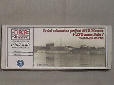 OKB Grigorov 1/700 Soviet Sub Project 667 B Murena, Delta I